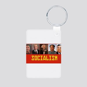 Socialism: Marx, Stalin, Lenin, Mao, Kim Keychains