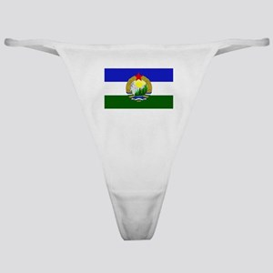Flag of Socialist Cascadia Classic Thong