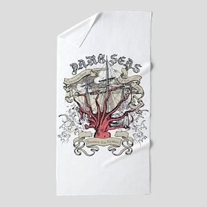 Dark Seas Kraken Beach Towel