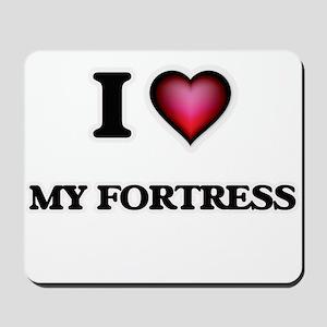 I Love My Fortress Mousepad