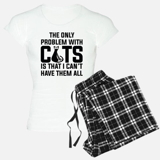 Cats...I can't have them all ): pajamas
