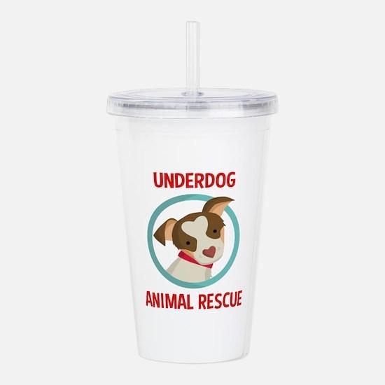 Underdog Official Logo Acrylic Double-wall Tumbler