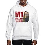 M1 Red Hoodie Hooded Sweatshirt