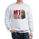 M1 Red Sweatshirt