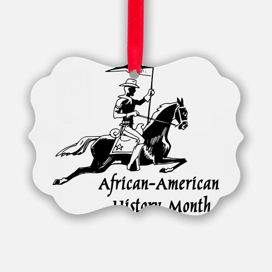 African American History Month Ornament