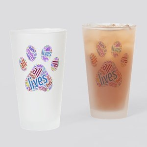 All Lives Matter Drinking Glass