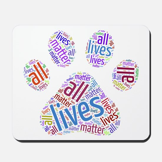 All Lives Matter Mousepad