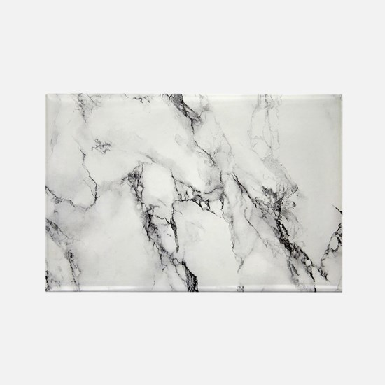 White Marble Magnets