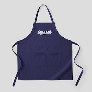 Cape Cod MA Retro Logo Apron (dark)