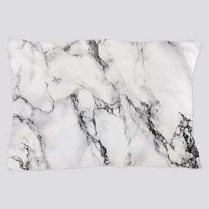 White Marble Pillow Case