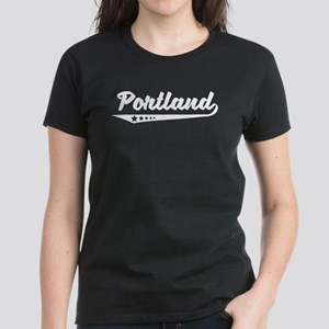 Portland OR Retro Logo T-Shirt