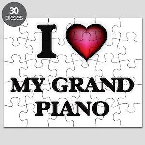 I Love My Grand Piano Puzzle