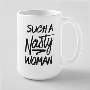Clinton-Nasty Woman Large Mug