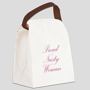 Proud Nasty Women Canvas Lunch Bag