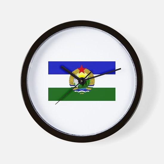 Flag of Socialist Cascadia Wall Clock