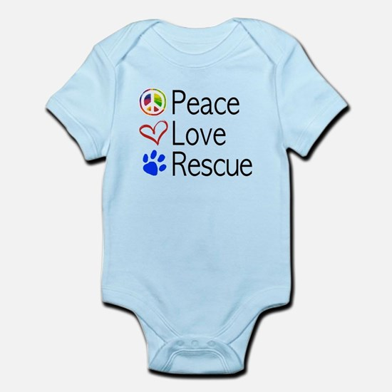 Peace Love Rescue Body Suit