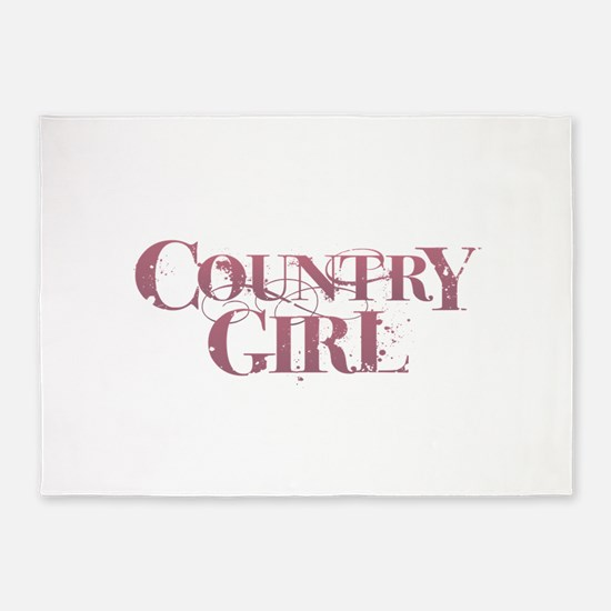 Country Girl 5'x7'Area Rug