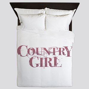 Country Girl Queen Duvet