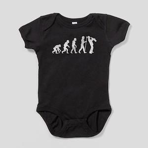 Saxophone Evolution Baby Bodysuit