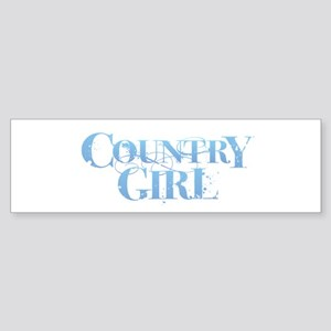 Country Girl Bumper Sticker