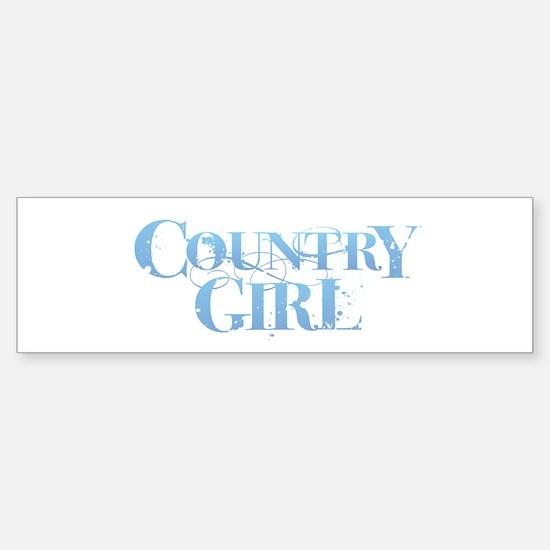 Country Girl Bumper Bumper Bumper Sticker