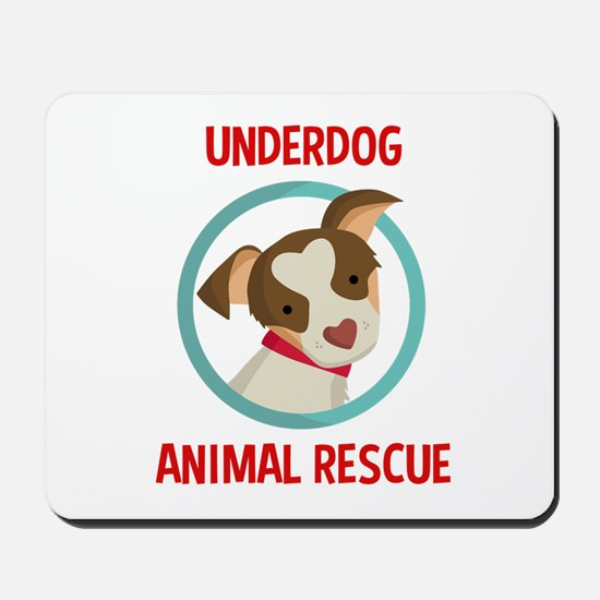 Underdog Official Logo Mousepad