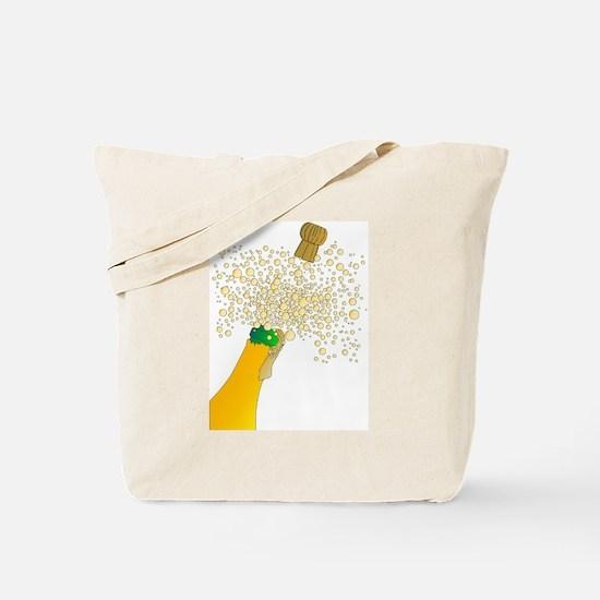 Cute Love pink cork Tote Bag