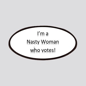 I'm a Nasty Woman Who Votes Patch
