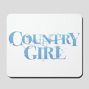 Country Girl Mousepad