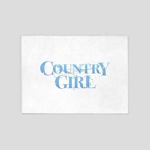 Country Girl 5'x7'Area Rug
