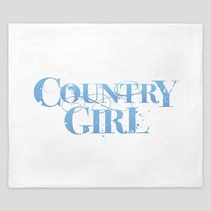 Country Girl King Duvet