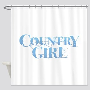 Country Girl Shower Curtain