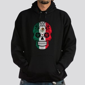 Mexican Sugar Skull with Roses Hoodie
