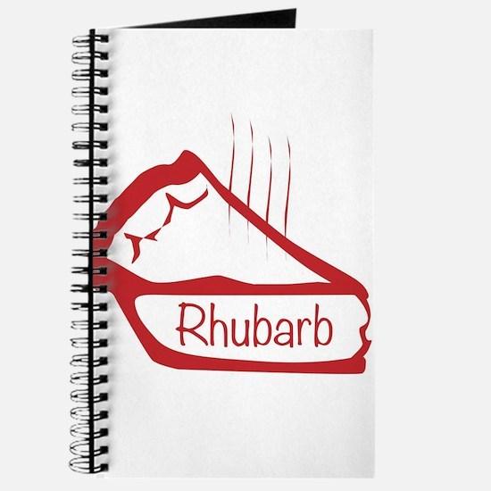 Warm Rhubarb Pie Journal
