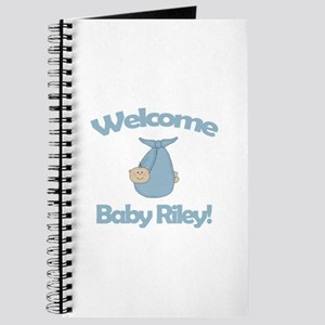 Welcome Baby Riley Journal