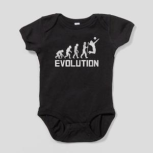Volleyball Evolution Baby Bodysuit