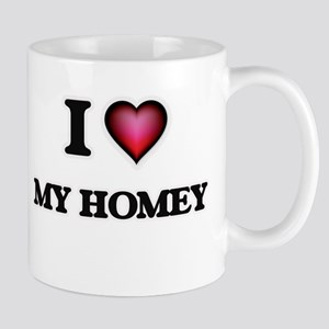I Love My Homey Mugs