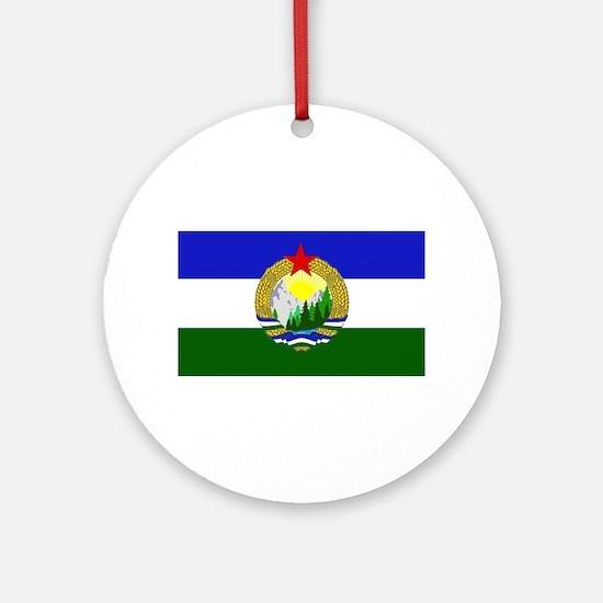 Flag of Socialist Cascadia Round Ornament
