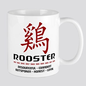 Chinese Zodiac Rooster Traits Mug