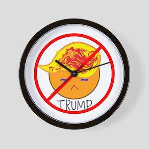 emoji, no Trump Wall Clock