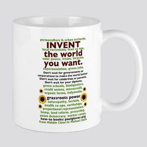 Invent the World You Want Mugs