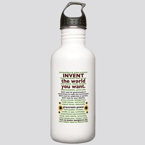 Invent the World You W Stainless Water Bottle 1.0L
