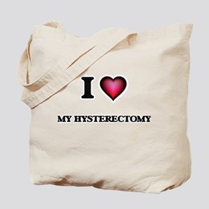 I Love My Hysterectomy Tote Bag