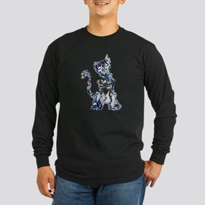 Sugar Skull Day of the Dead Ar Long Sleeve T-Shirt