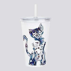 Sugar Skull Day of the Acrylic Double-wall Tumbler