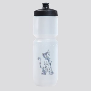 Sugar Skull Day of the Dead Artsy Or Sports Bottle