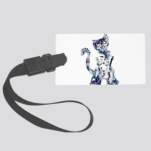 Sugar Skull Day of the Dead Arts Large Luggage Tag