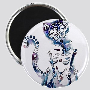 Sugar Skull Day of the Dead Artsy Original Magnets