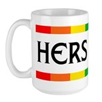 HERS AND HERS Large Mug