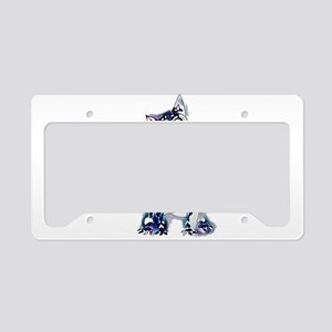 Sugar Skull Day of the Dead A License Plate Holder